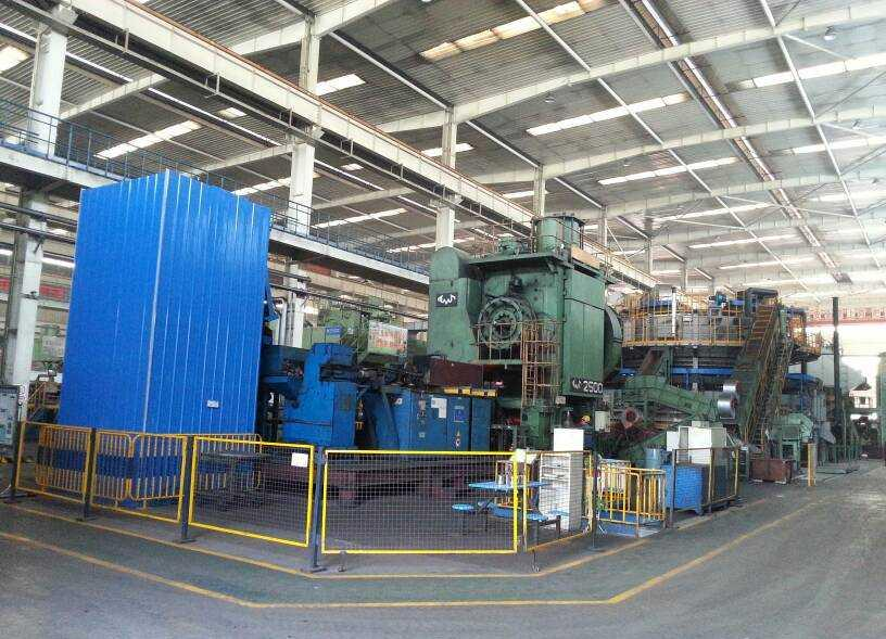 2500t hot forging press
