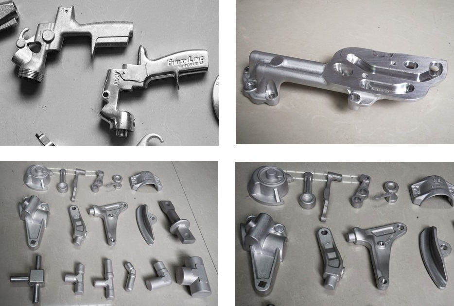 6061-T6 forged and machined aluminum part