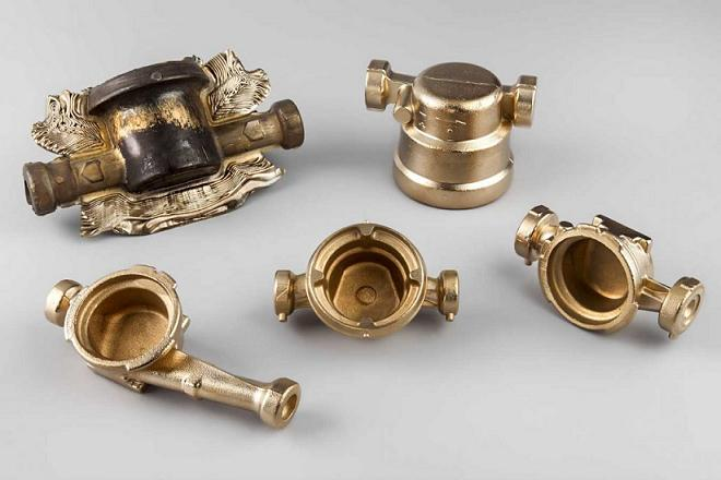 Brass Forging for Water Meter Fittings