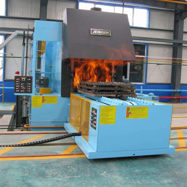 carburizing treatment after drop forging