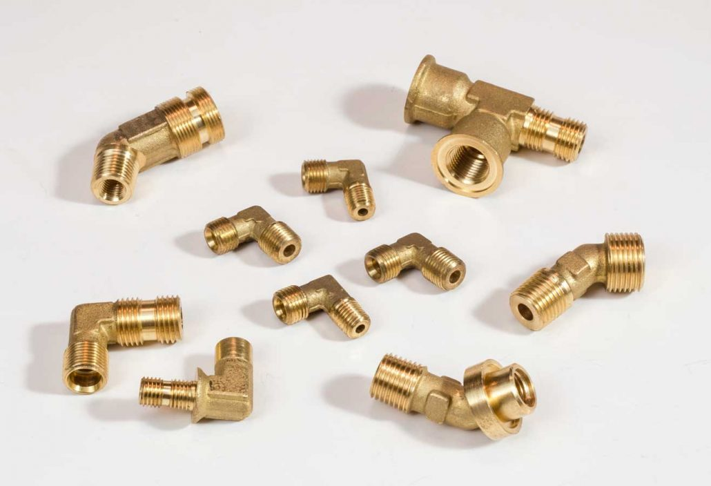 Forging and Machining for Brass Valve, Pipe or Plumbing Fittings