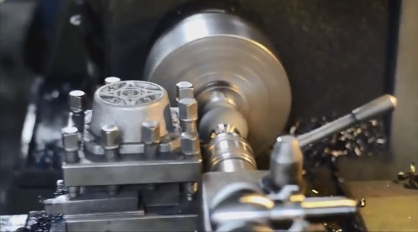 hitch ball machining
