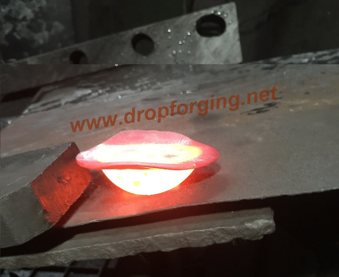 closed die drop forging
