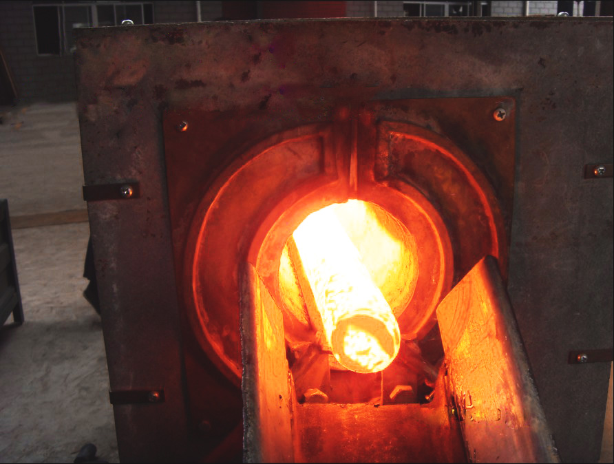 drop forging heated by medium frequency furnace