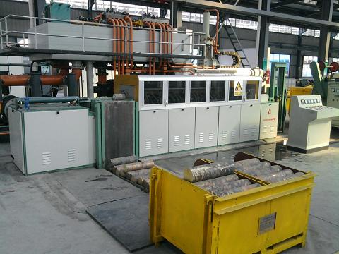 medium frequency induction heating furnace