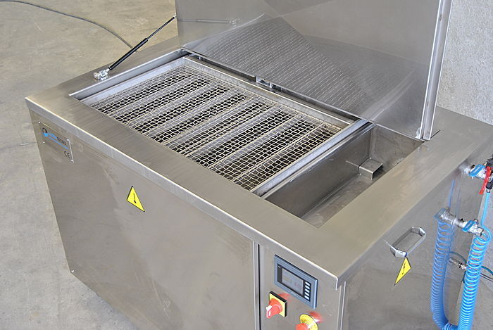 ultrasonic cleaning for drop forging